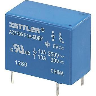 Zettler Electronics AZ7705T-1A-12DEF PCB relay 12 V DC 5 A 1 maker 1 pc(s)
