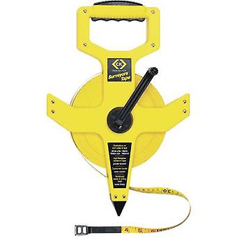 Tape measure 50 m Manufacturers standards (no certificate) C.K.T3565 165