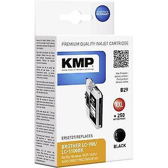 KMP encre remplacé Brother LC-980, LC-1100 Compatible noir B29 1521,5221