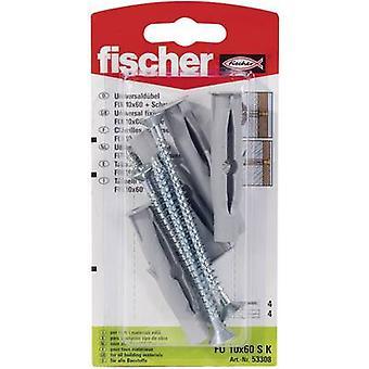 Fischer FU 10 x 60 SK Universal pino 60mm 10mm 53308 4 PC (s)