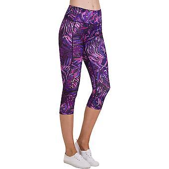 Utendørs utseende kvinner/damer 3/4 Tarbet Yoga strekk Leggings