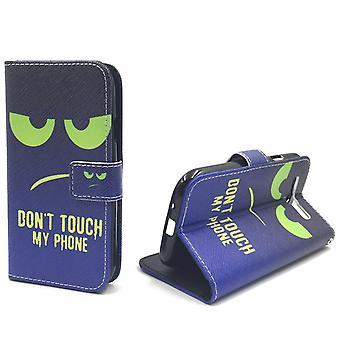 Cell phone cover case voor mobiele Samsung Galaxy S3 / S3 neo raak niet mijn telefoon groen