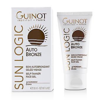 Guinot sun logic auto bronz auto-Tanner face gel-50ml/1.4 oz