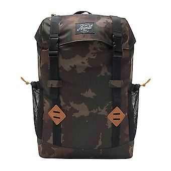 Animal Hiker Backpack in Camo Green