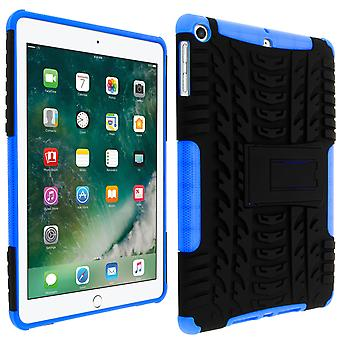 Shockproof Stand case for Apple iPad 9.7 2017/iPad 2018 & Kickstand - Blue