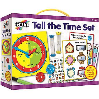 Galt Tell the Time Set