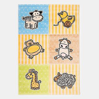Baby animal Nursery rug 120x180cm