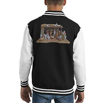 Original Stormtrooper Christmas Stormtivity Kid's Varsity Jacket