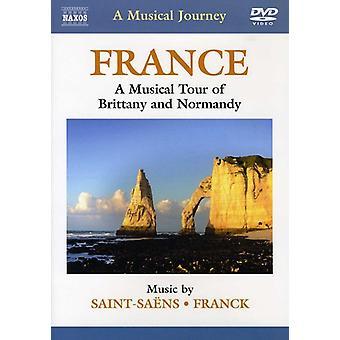Saint-Saens/Franck - viaggio musicale: importazione di Francia (Bretagna e Normandia) [DVD] Stati Uniti d'America