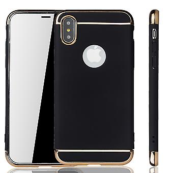 Apple iPhone XS mobiele cover case bumper Hard Cover zwart