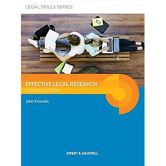 Effective Legal Research (4th Revised edition) by John Knowles - 9780