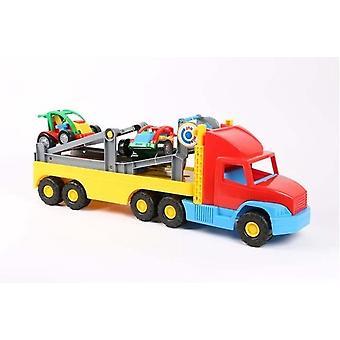 Wader 36620 Vrachtwagen Met Trailer Multicolor