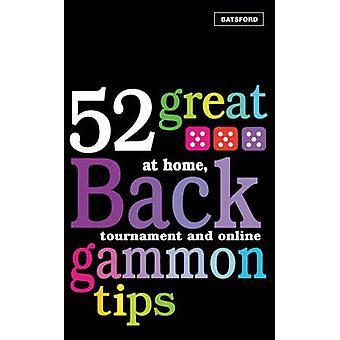 52 große Backgammon Tipps - zu Hause - Turnier und Online von Patti werden