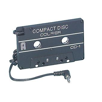 TechBrands CD-Cassette adaptador de 3.5mm