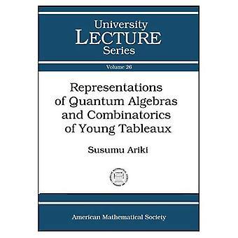 Rappresentazioni delle algebre di Quantum e combinatoria di tabelle di Young