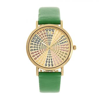 Crayo Fortune Unisex Watch - Gold/Green