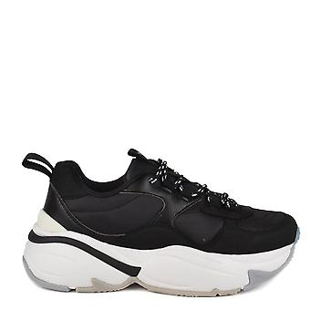 Victoria Shoes Aire Black Chunky Trainer
