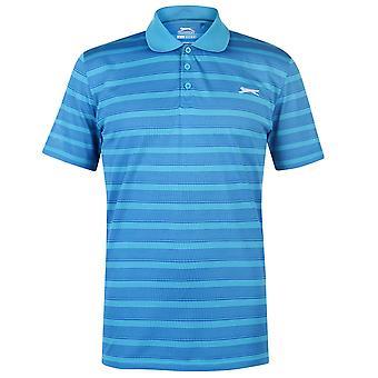 Slazenger Herren Stripe Polo-Shirt