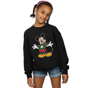 Disney Girls Mikki Hiiri Joulu Hyppääjä Aivohalvaus Collegepaita