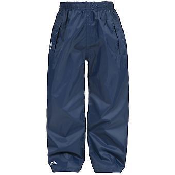 トレスパス子供/キッズ ユニセックス荷造りズボンと防水ズボン