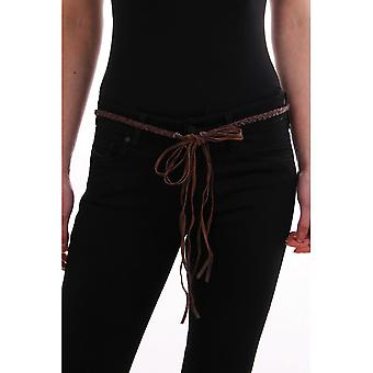 System Leather Plated Belt