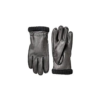 Hestra Gloves Deerskin Primaloft Rib Gloves (Black)