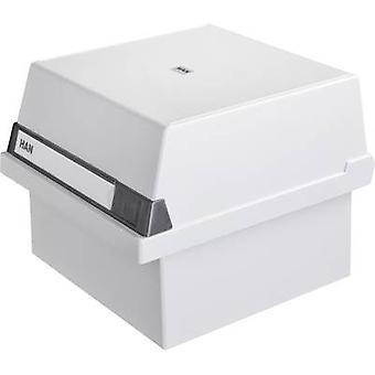 HAN 965-11 Card index box Light grey No. of cards (max.): 800 cards A5 landscape