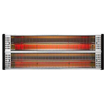 Calentador infrarrojo CasaTherm S2400 con Control remoto