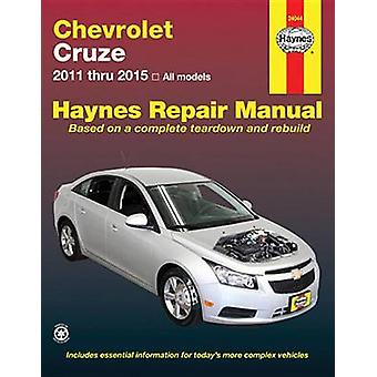 Chevrolet Cruze Automotive Repair Manual 2011-15 - 9781620921982 Book