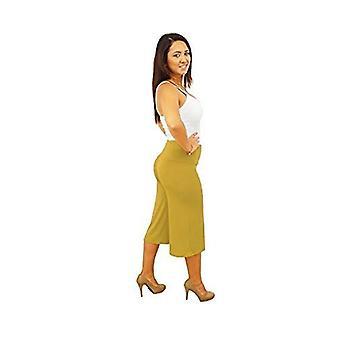 Dbg women's women's gaucho wide legged autumn pants