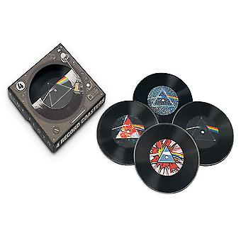 ピンクフロイドダークサイド45レコードコースター