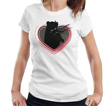 Sailor Moon Pluto Heart Women's T-Shirt