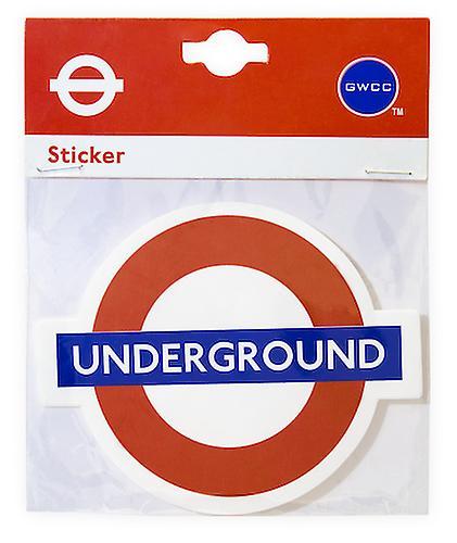 Tfl™5108 licensed piccadilly circus roundel™ vinyl sticker