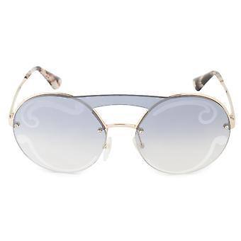 Prada Cinema Evolution Single Lens runde solbriller PR65TS ZVN0D0 36