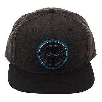 Baseball Cap - Black Panther - Logo Black Snapback New Licensed sb641hbpm