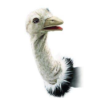 Hand Puppet - Folkmanis - Ostrich Stage Puppet New Toys Soft Doll Plush 2872