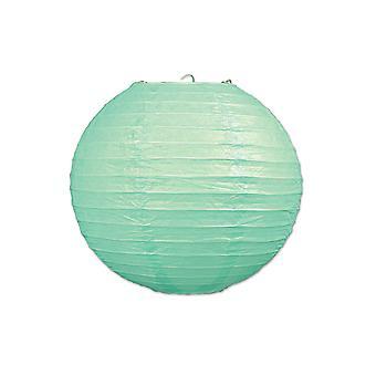 Papier Laternen (Pack von 3) - Mint grün