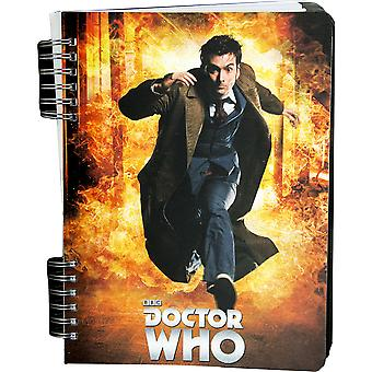 Doctor Who tiende Doctor lenticulaire Journal