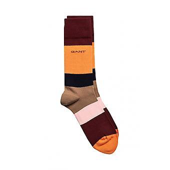 Gant D1. Väri estää sukat lämmin Khaki