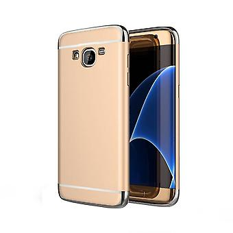 BackCover 3 w 1 dla Samsung J5 Gold Silver