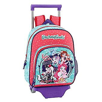 Enchantimals - Official children's backpack with Safta 705 trolley