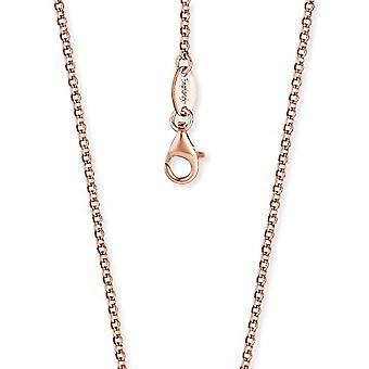 Engelsrufer Belcher chain rose gold plated 925 Sterling silver thickness 2 -1 mm (0 -08') length 60 cm (23 -62')