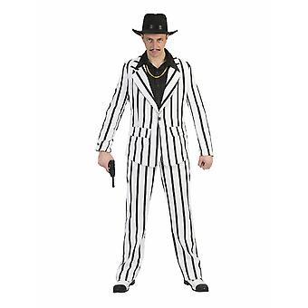 Ganove Gangster Costume Homme Mafiosi Al Capone Costume Homme
