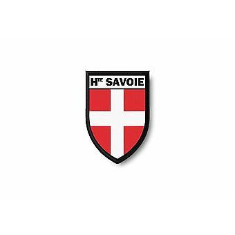 Bord Brode Blason Print Print Thermocollant Ville Haute Savoie