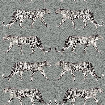 Crown Glamorous Leopard Wallpaper