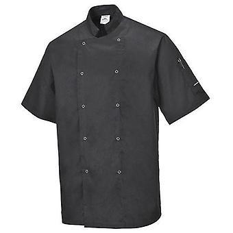 Portwest C733 Cumbria Short Sleeved Chefs Jacket