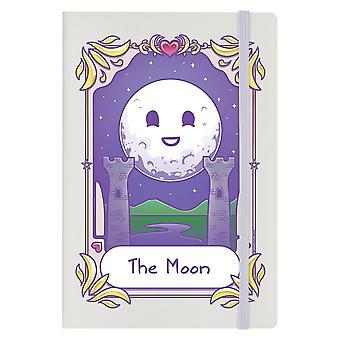 Deadly Tarot Kawaii The Moon A5 Hard Cover Notebook