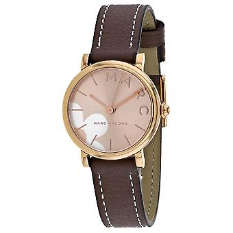 Marc Jacobs Women's Classic Rose Gold Dial Watch - MJ1621