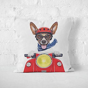 Krysoz polštářek-pes na skútru