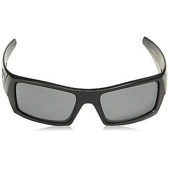 Oakley Men's OO9014 Gascan Rectangular Sunglasses, Matte, Black, Size 60 mm